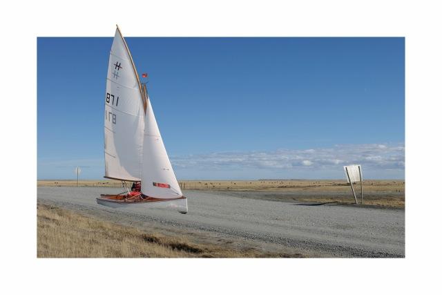 60x40 Boot in der Pampa